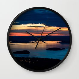 Sky Colors Wall Clock
