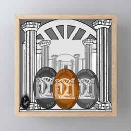 Necropolis Coins Palladium, Platinum and Copper 4 Framed Mini Art Print