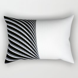 Abstract Architecture Curves Rectangular Pillow
