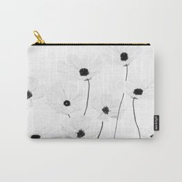 black and white cosmos Carry-All Pouch