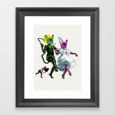 Dance, Chauncey, Dance - French Bulldog Framed Art Print