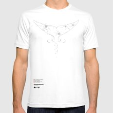 SF Against Stupidity* | Glass Mens Fitted Tee MEDIUM White