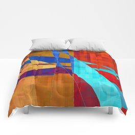 flash flood Comforters