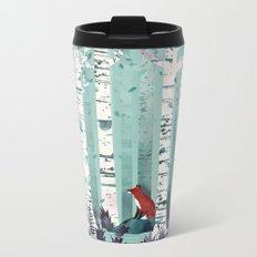 The Birches Metal Travel Mug