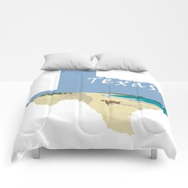 Texas: Mustang Island Comforters