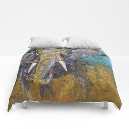 African Elephant Bull Comforters