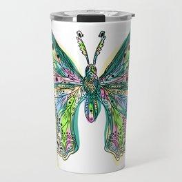 Fly Butterfly Travel Mug