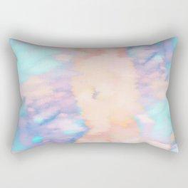 Watercolor Sky Rectangular Pillow