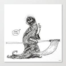 Saint Death  Canvas Print