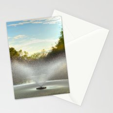 Fountain in New Orleans Stationery Cards