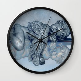 Sleeping Angel Wall Clock