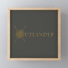 OUTLANDER GOLD Framed Mini Art Print