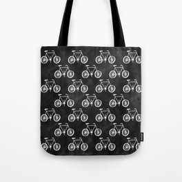Bicycle Pattern Tote Bag