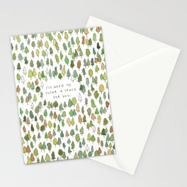 A Tree Falls Stationery Cards