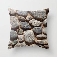 Textures - Rock Throw Pillow