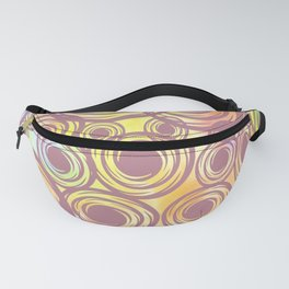 Candys Hippie Design Fanny Pack