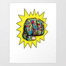 Psychedelic Punch Art Print