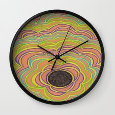 Center Circle Wall Clock