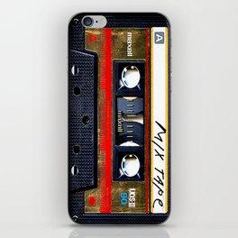 Retro classic vintage gold mix cassette tape iPhone Skin