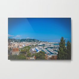 Welcome to the French Riviera Metal Print