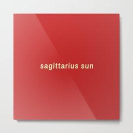 Sagittarius Sun Metal Print