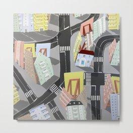 showville - urban living Metal Print