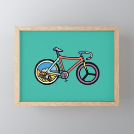 Bike Life Framed Mini Art Print