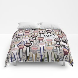 Felice nel Box (Film Poster) Comforters