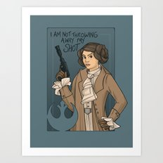 She's Young, Scrappy, and Hungry. Art Print