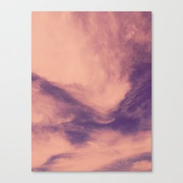 marbled clouds Canvas Print