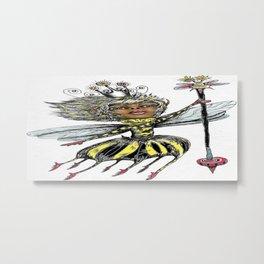 Queen Bee of Color Metal Print