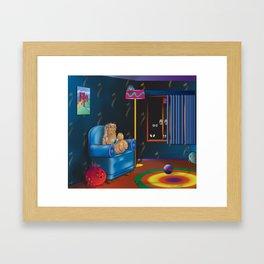 Scary Story Framed Art Print