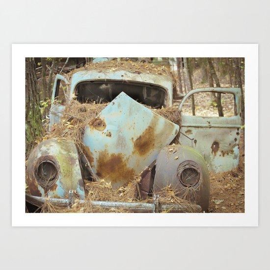 Junqueyard Blues Art Print