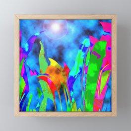 Mystery Garden Framed Mini Art Print