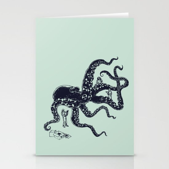 Experimental Music Stationery Cards