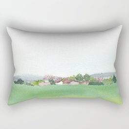 field Rectangular Pillow