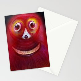 Red Ghost Stationery Cards