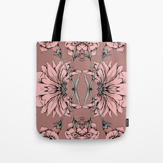 Floral Tote Bag