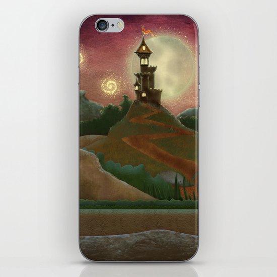 Night landscape iPhone & iPod Skin