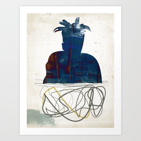Jean Michel Art Print