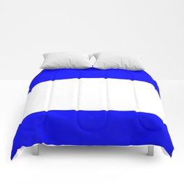 Flag of salvador 4 - salvador,Salvadoran,San Salvador,salvadoreño,Guanaco. Comforters