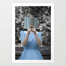 Reading Art Print