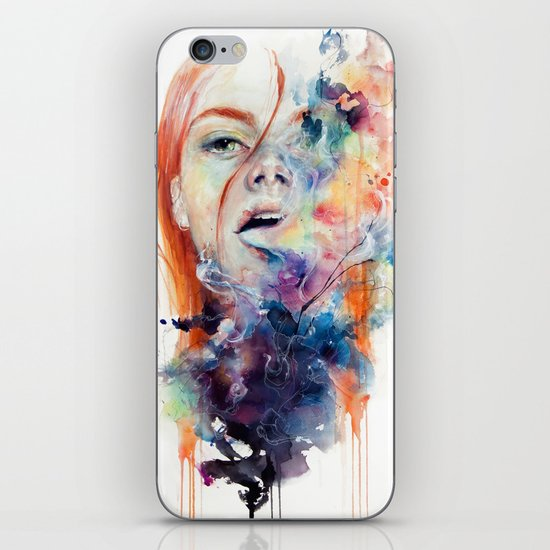 this thing called art is really dangerous iPhone & iPod Skin