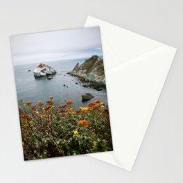 Big Sur Coast Wall Art | California Highway 1 Nature Flowers Ocean Beach Coastal Travel Photography Print Stationery Cards