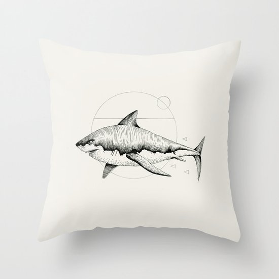 'Wildlife Analysis VIII' Throw Pillow