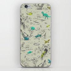 Adventure Toile  iPhone & iPod Skin