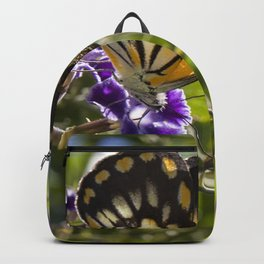 Caper White Butterfly Backpack