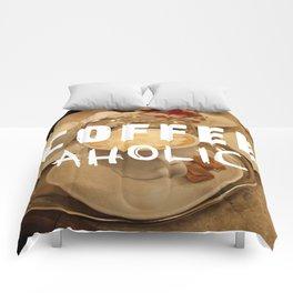 COFFEEaholic Comforters