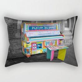 Play me Im yours Rectangular Pillow