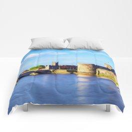 King Johns Castle and Thomond Bridge Comforters